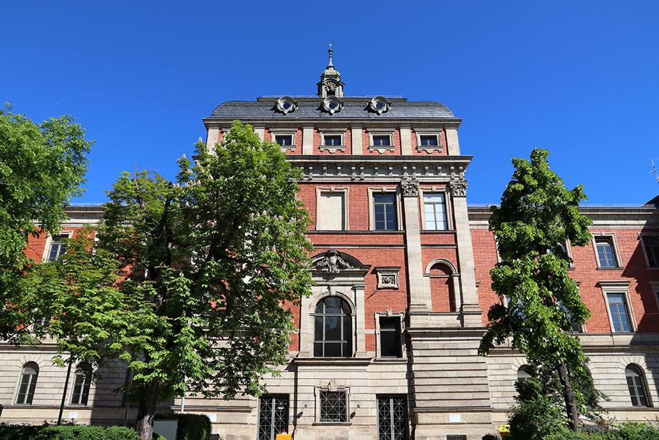 Gebäude der Friedrich-Alexander Universität Erlangen